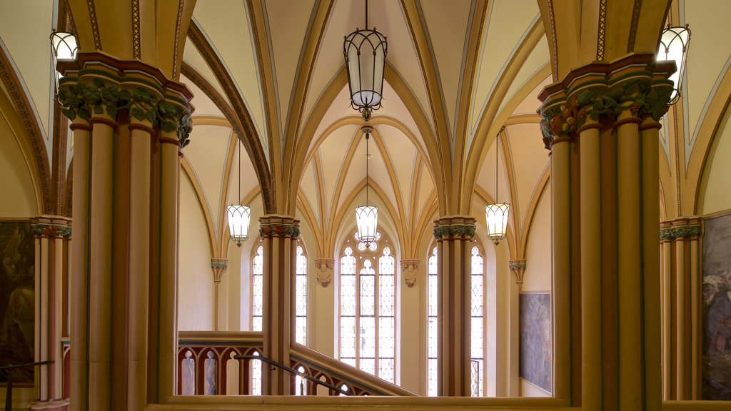 Rathaus which includes heritage elements and interior views