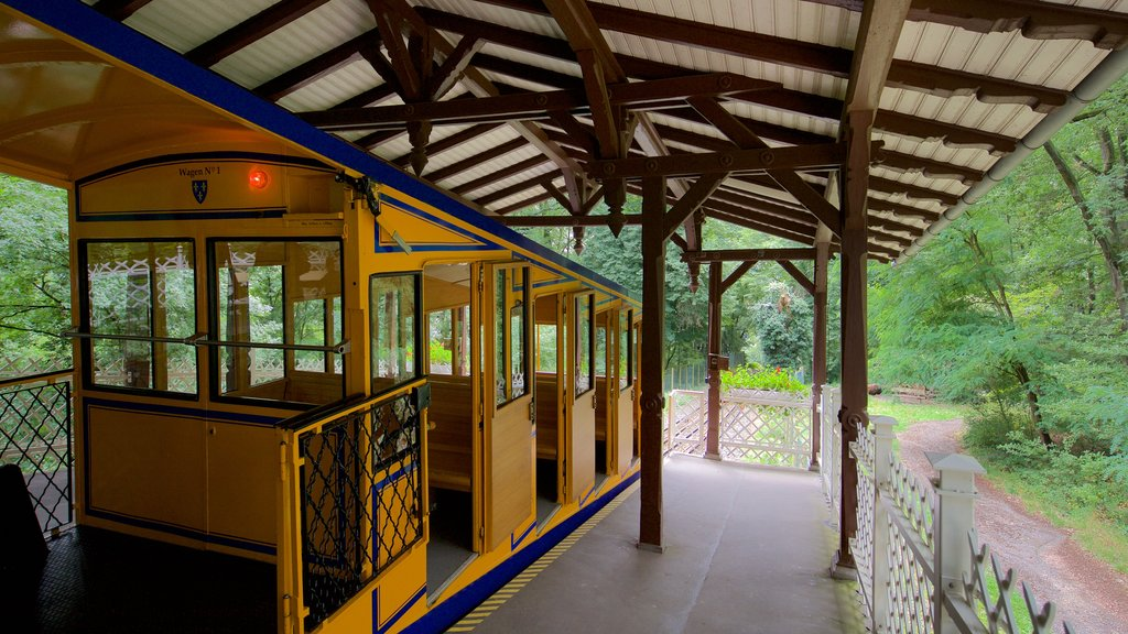 Nerobergbahn which includes interior views and railway items