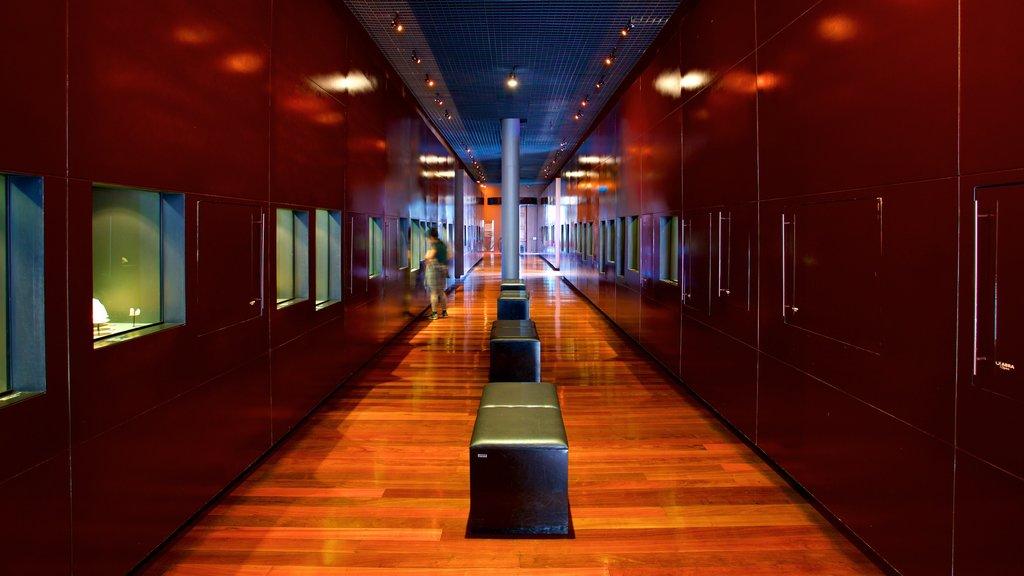 Mining Museum showing interior views