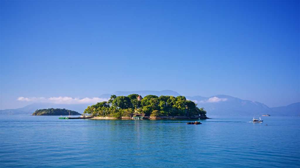Angra dos Reis showing general coastal views and island images