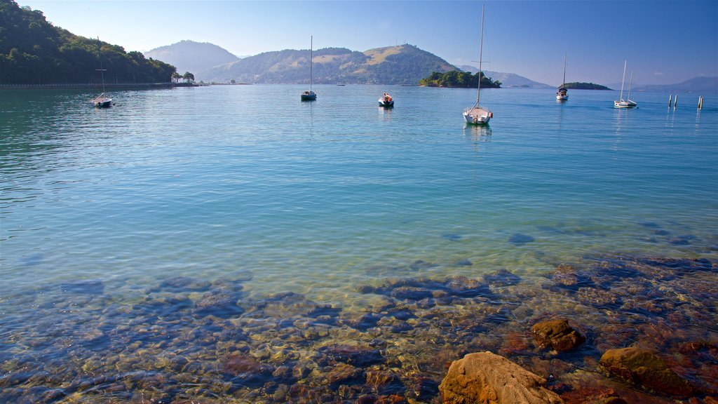 Angra dos Reis which includes a bay or harbor and tropical scenes