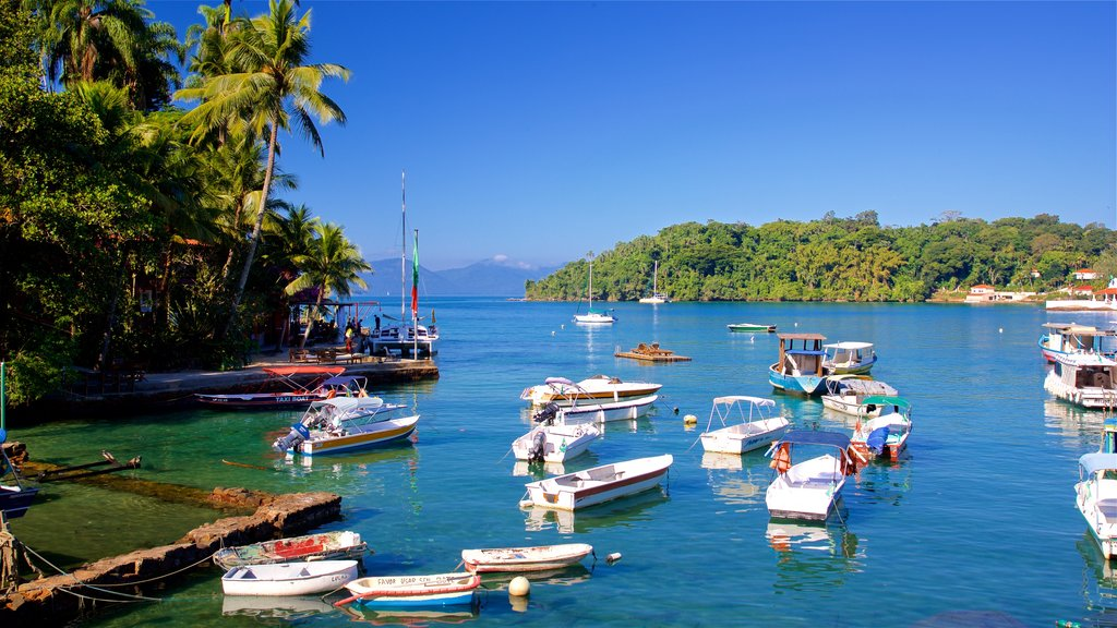 Angra dos Reis featuring a bay or harbor