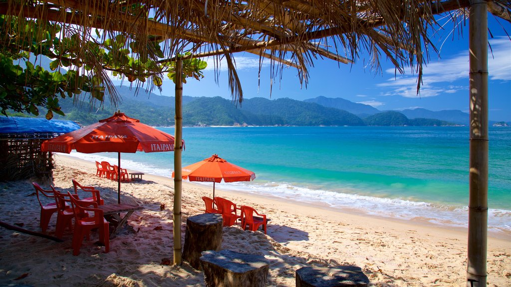 Ranch Beach which includes tropical scenes, general coastal views and a beach
