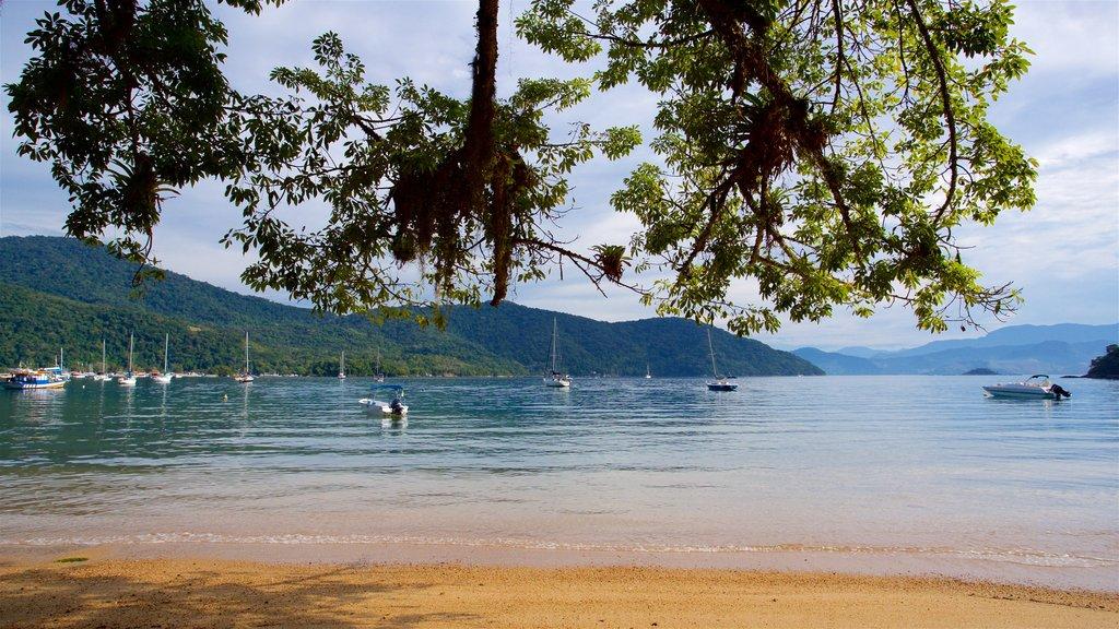 Praia de Japariz caracterizando paisagens litorâneas, uma baía ou porto e uma praia