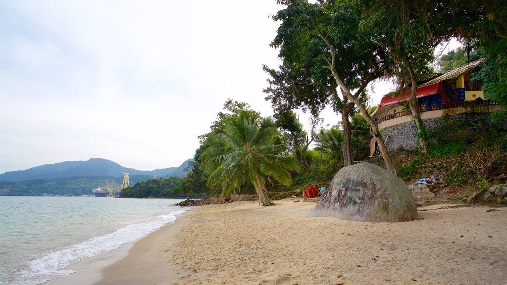 Eguas Beach showing general coastal views, tropical scenes and a beach