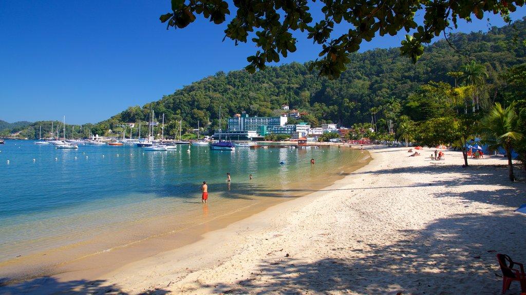 Angra dos Reis featuring a beach, a bay or harbor and general coastal views