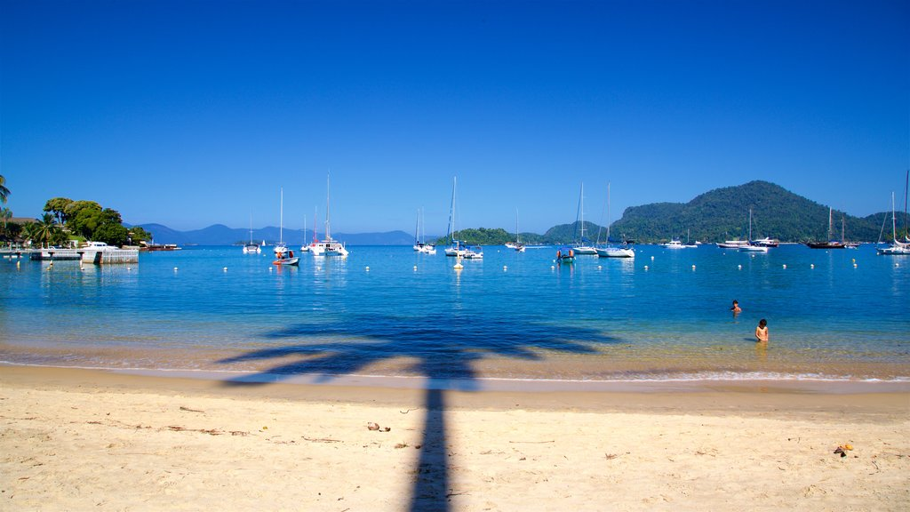 Angra dos Reis showing swimming, a bay or harbor and general coastal views