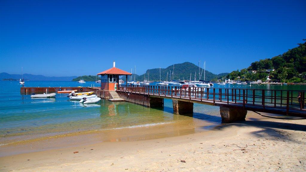 Angra dos Reis featuring general coastal views, a beach and a bay or harbor
