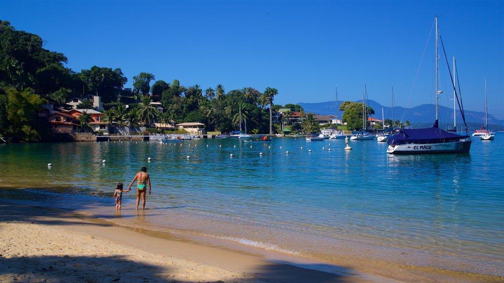 Angra dos Reis featuring general coastal views, a bay or harbor and a sandy beach