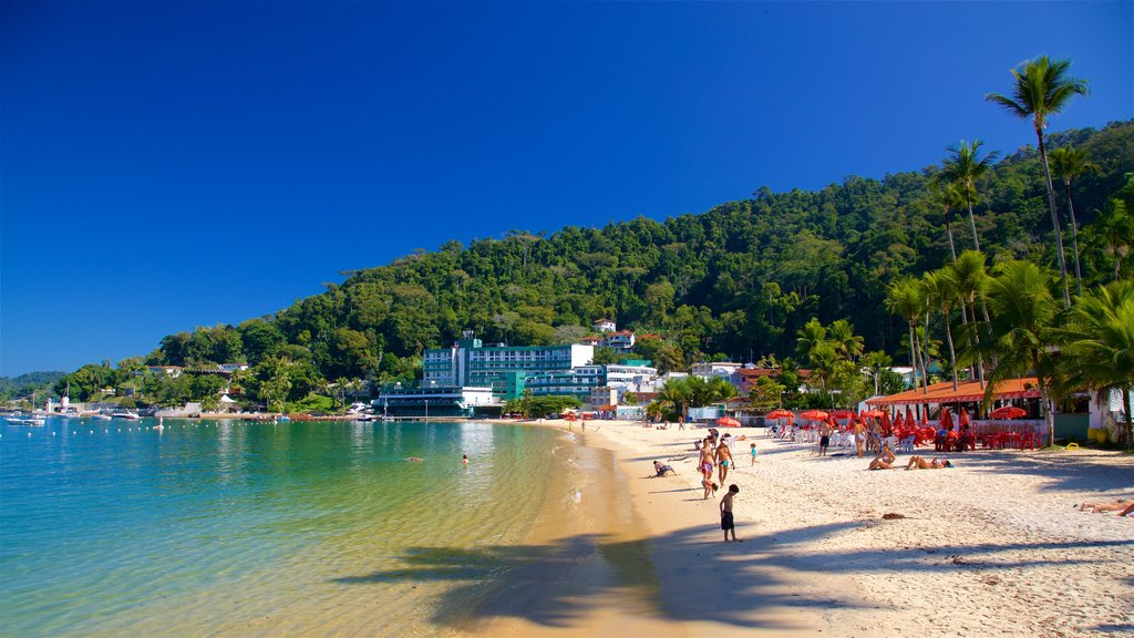 Angra dos Reis featuring general coastal views, a sandy beach and a coastal town