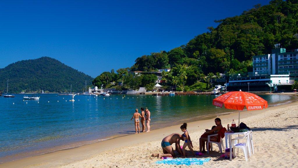 Angra dos Reis featuring general coastal views, a beach and a coastal town