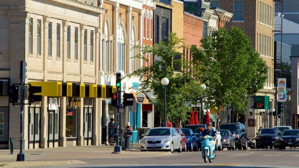 Iowa City showing a city