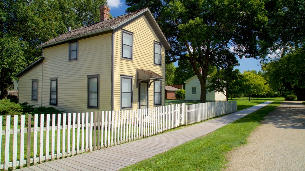 Herbert Hoover National Historic Site which includes a house and a small town or village