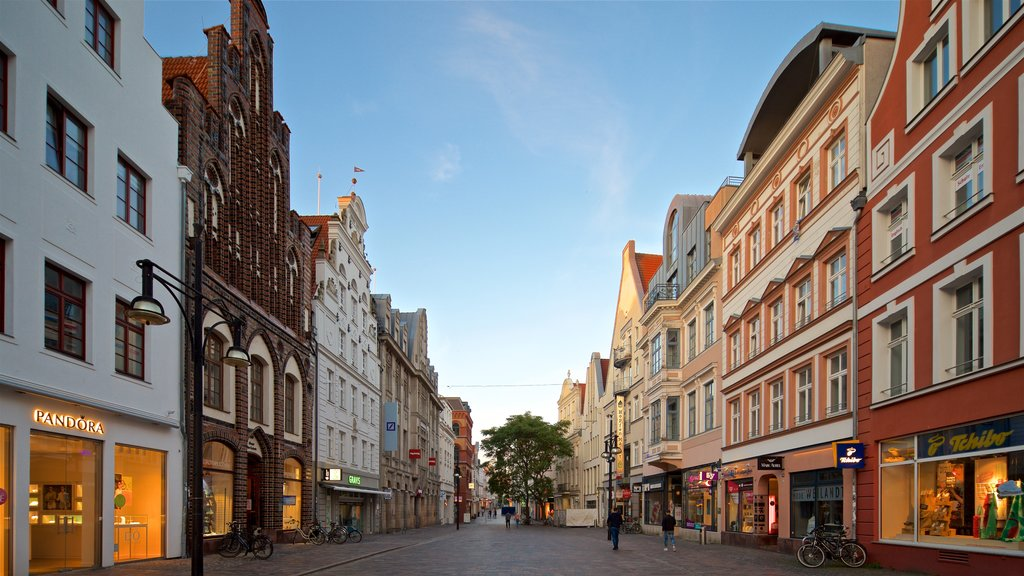 Rostock which includes a city