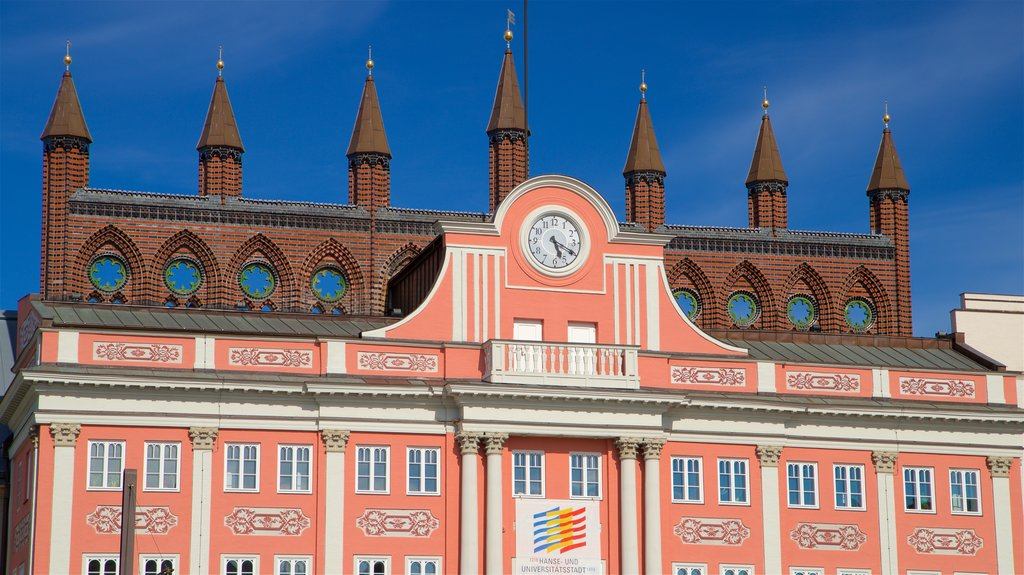 Town Hall which includes heritage architecture