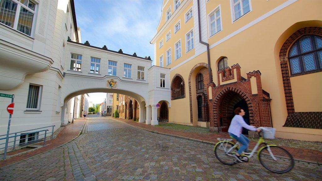 Rostock showing heritage elements