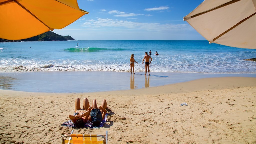Brava Beach showing general coastal views and a beach as well as a couple