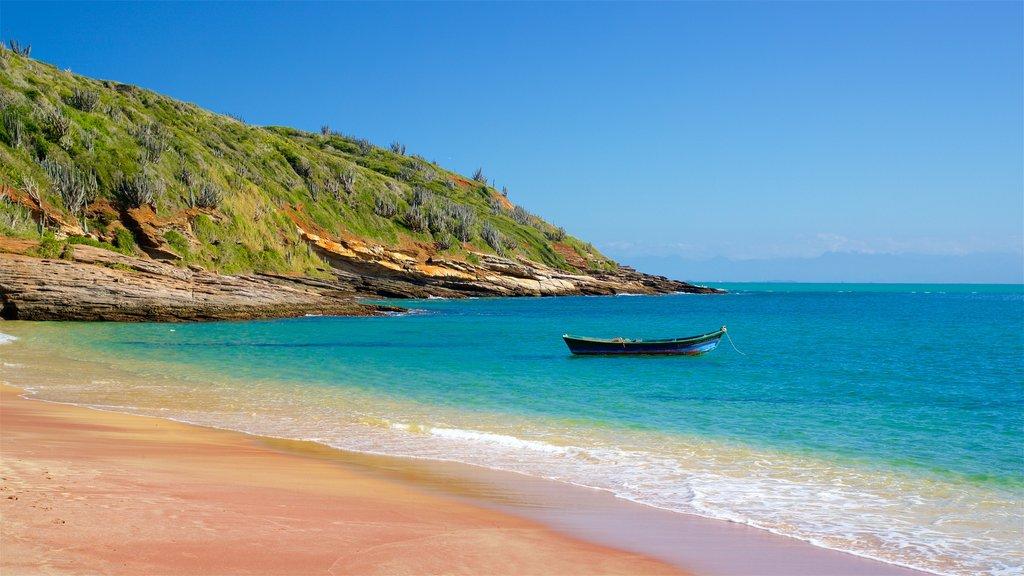 Joao Fernandes Beach showing a sandy beach and general coastal views