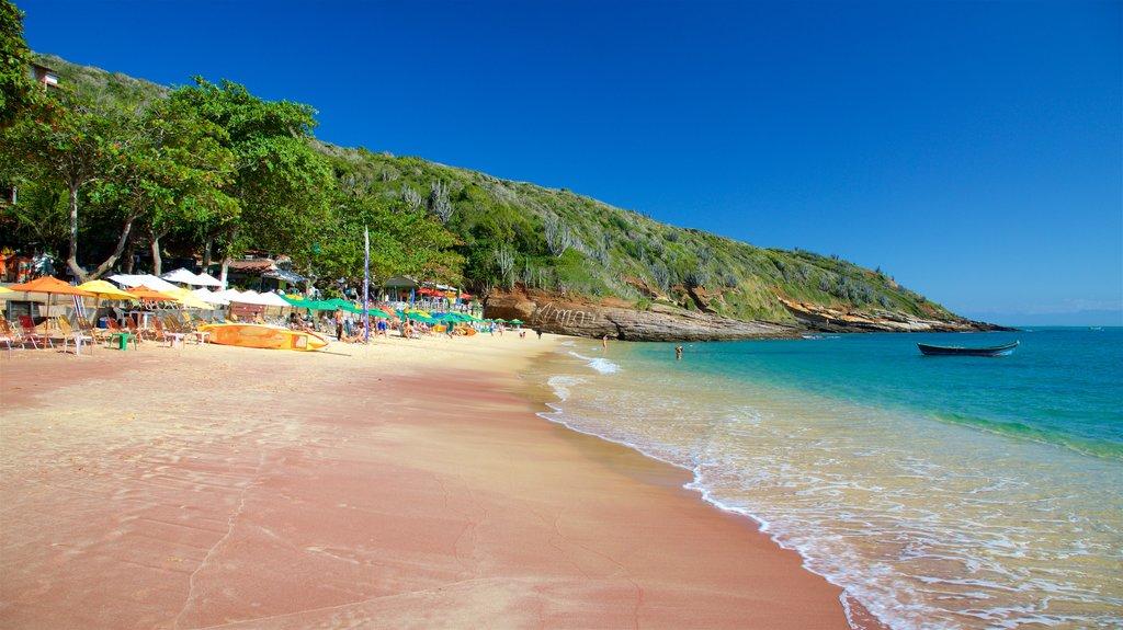 Joao Fernandes Beach showing general coastal views and a sandy beach