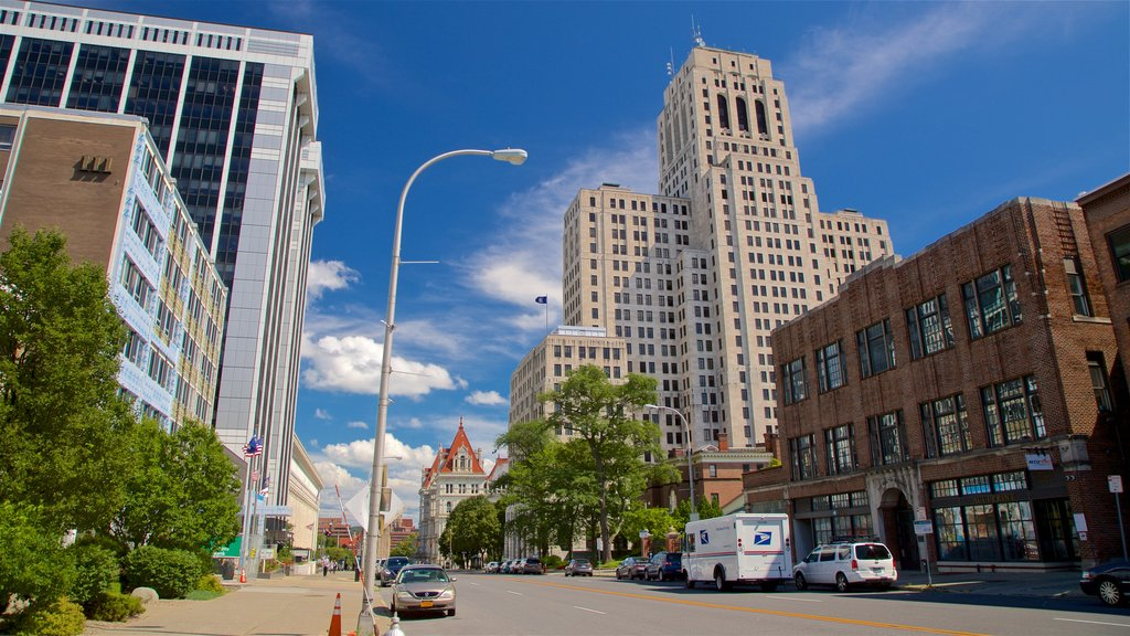 Albany featuring a city and modern architecture