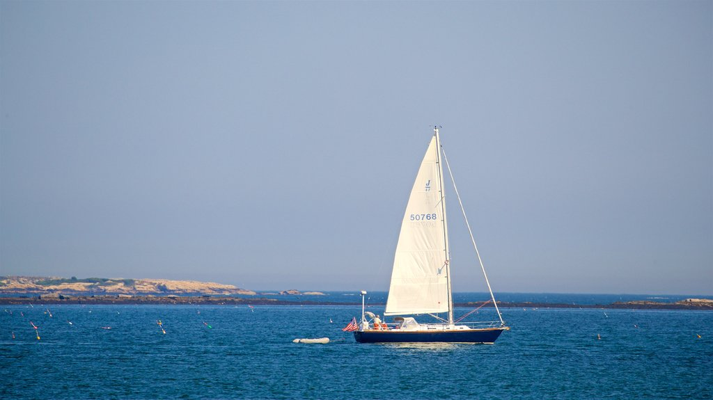 Bailey Island which includes sailing and general coastal views