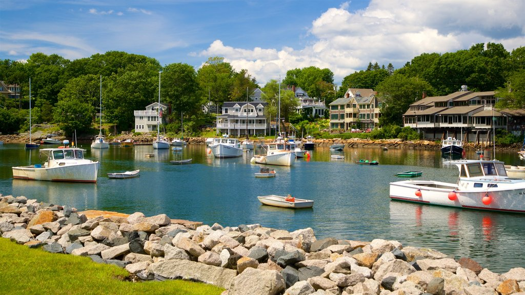 Ogunquit featuring a bay or harbor