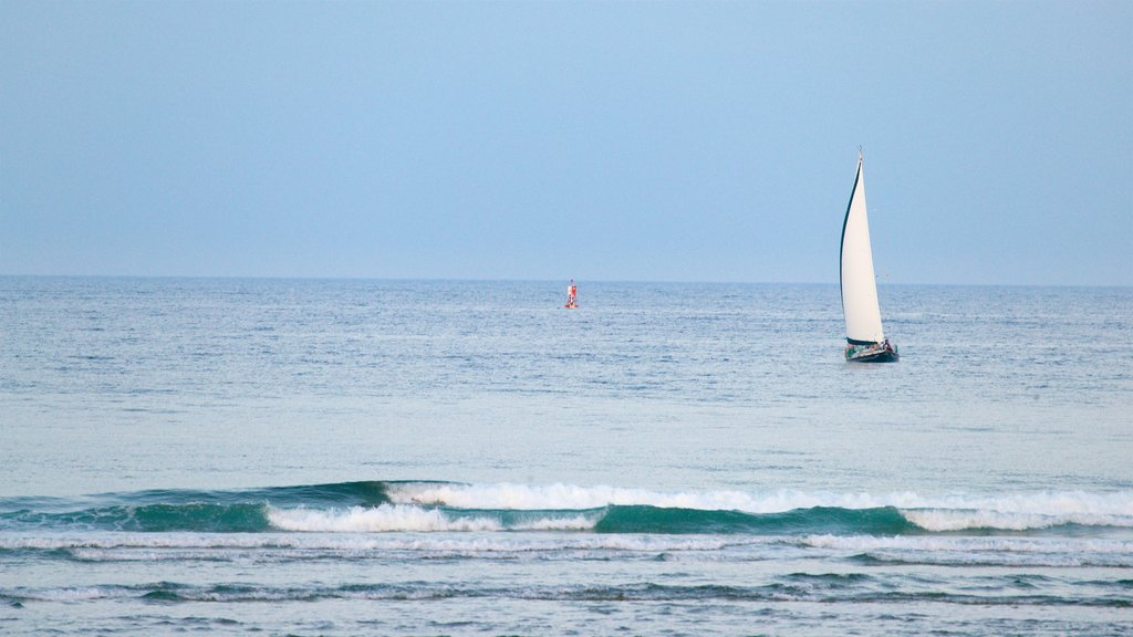Ogunquit Beach featuring general coastal views and sailing