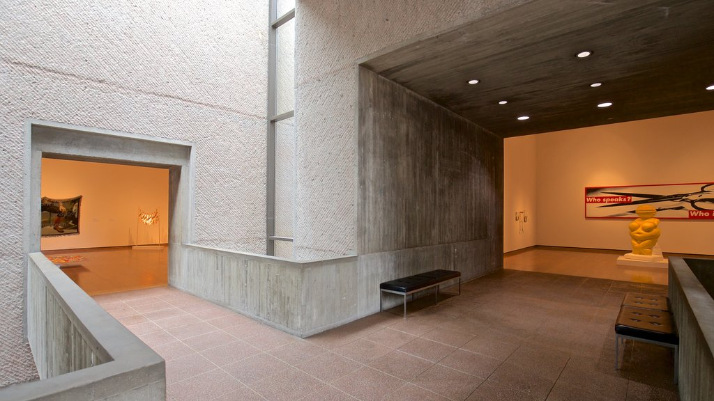 Everson Museum of Art which includes art and interior views