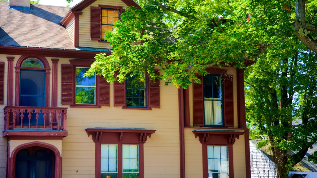 Skolfield-Whittier House showing a house