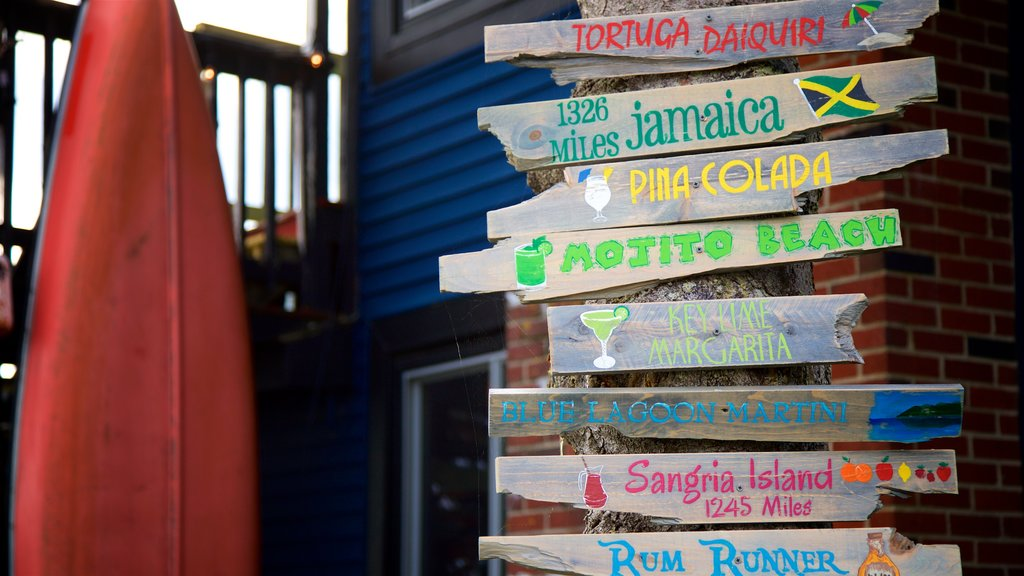 Cape Porpoise que incluye señalización