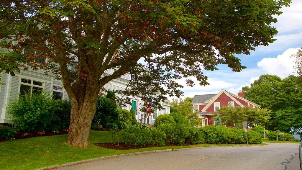 Cape Porpoise ofreciendo una pequeña ciudad o pueblo
