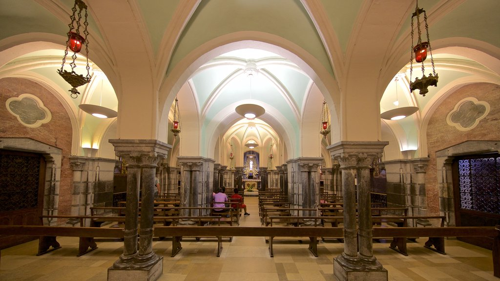 Notre-Dame de l\'Immaculee-Conception which includes interior views and a church or cathedral
