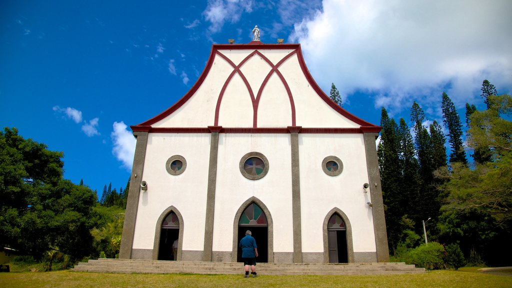 Isle of Pines mostrando una iglesia o catedral