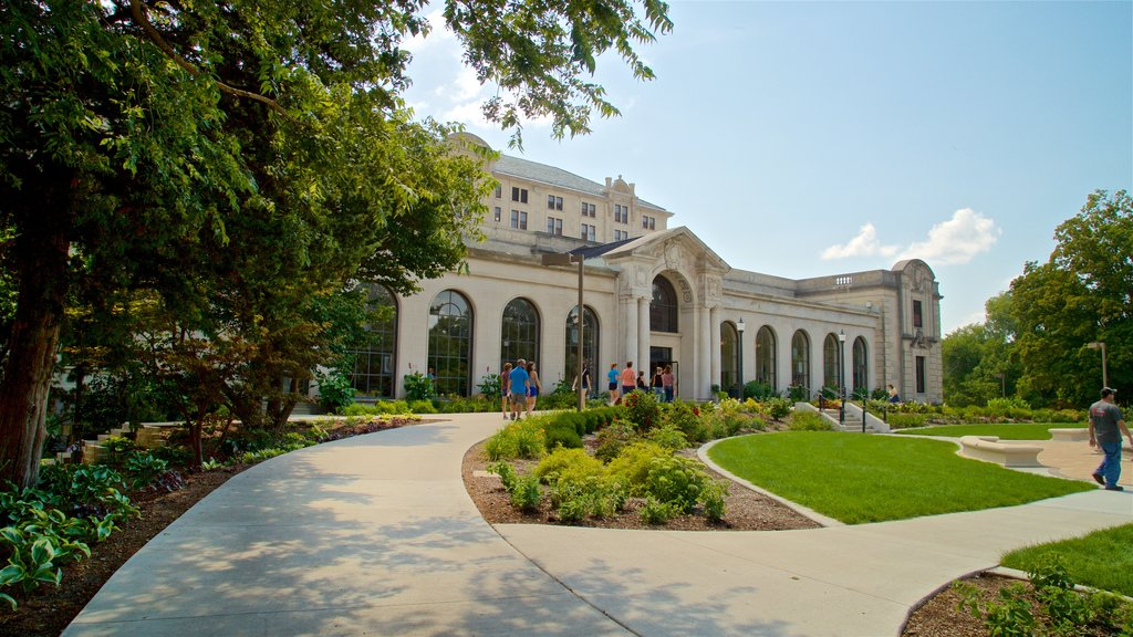 Iowa State University which includes a park and heritage architecture