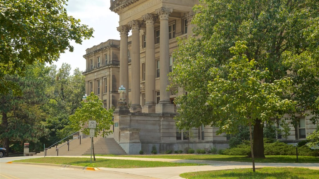 Iowa State University which includes heritage architecture