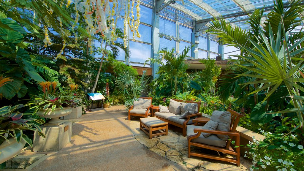 Reiman Gardens featuring interior views and a park