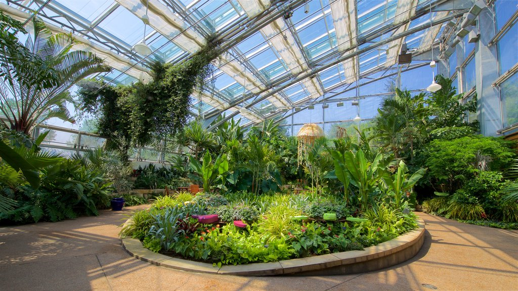Reiman Gardens featuring a park and interior views
