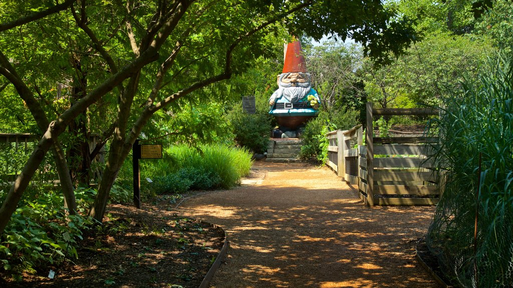 Reiman Gardens which includes a park and outdoor art