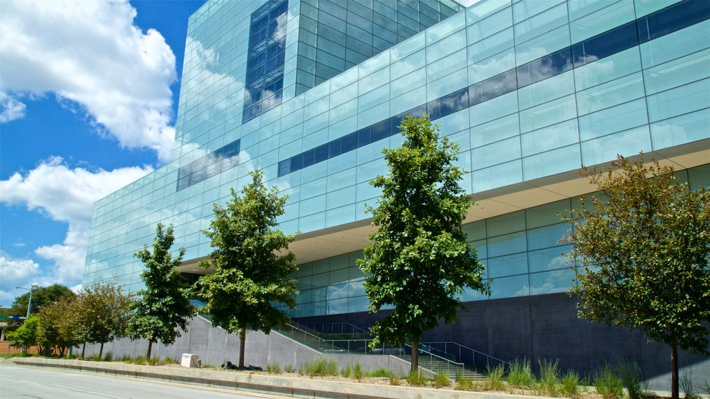 Figge Art Museum featuring modern architecture