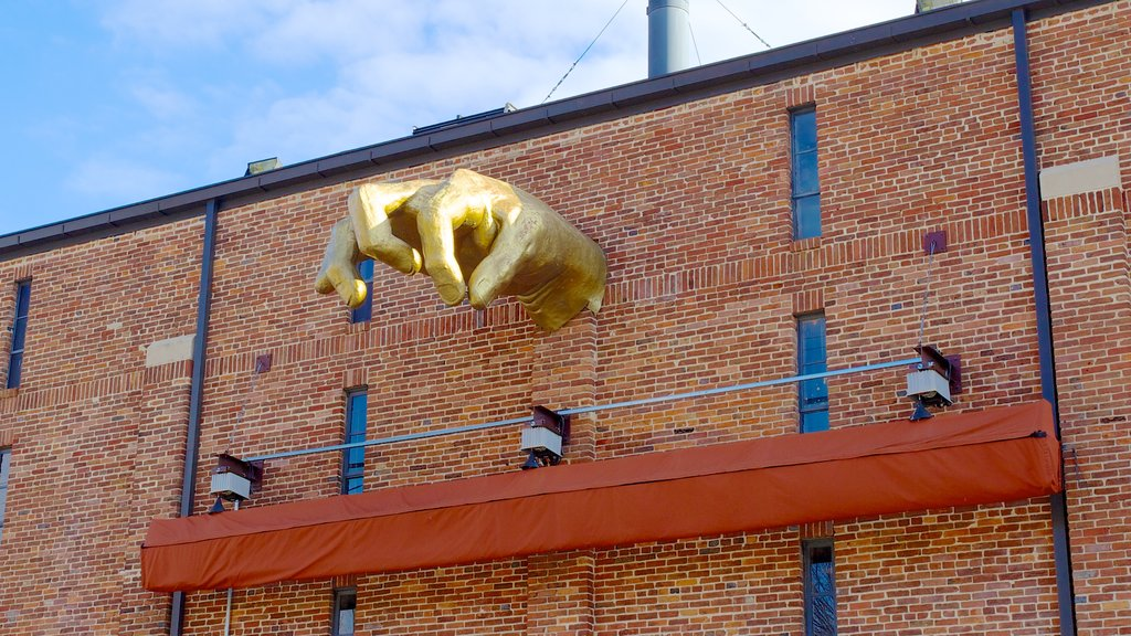 American Visionary Art Museum showing art