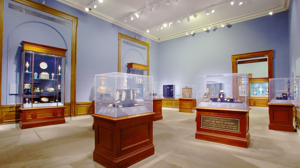Walters Art  Museum which includes interior views and art