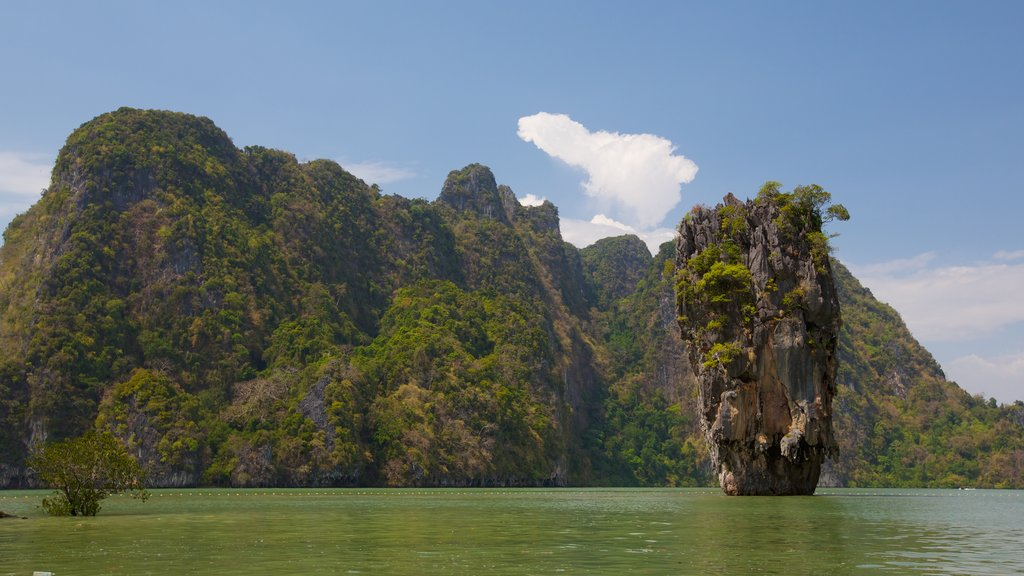 Ao Phang Nga National Park featuring general coastal views, mountains and forest scenes
