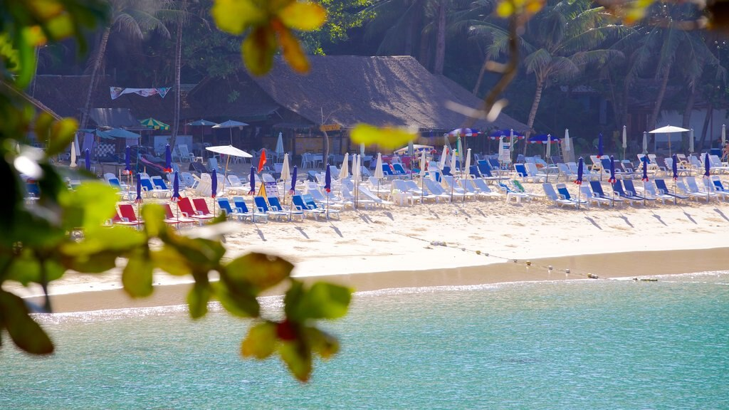 Laem Singh Beach showing tropical scenes, general coastal views and a luxury hotel or resort