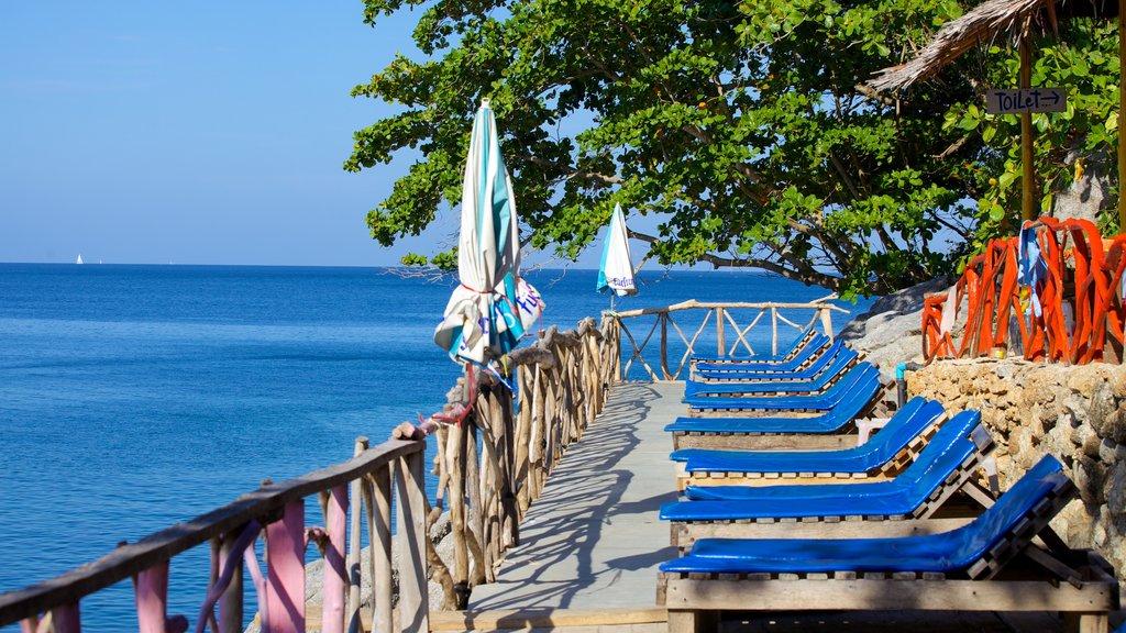 Laem Singh Beach which includes general coastal views and views