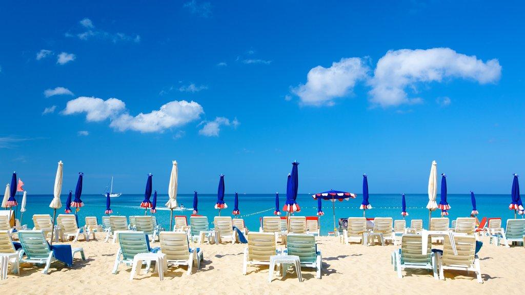 Laem Singh Beach which includes tropical scenes, landscape views and a beach