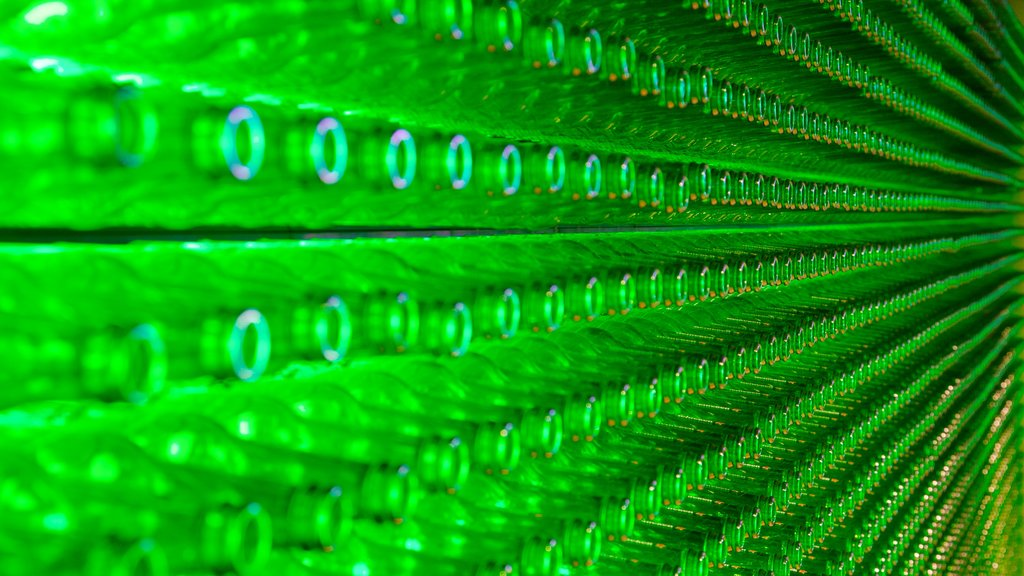 Heineken Experience featuring interior views