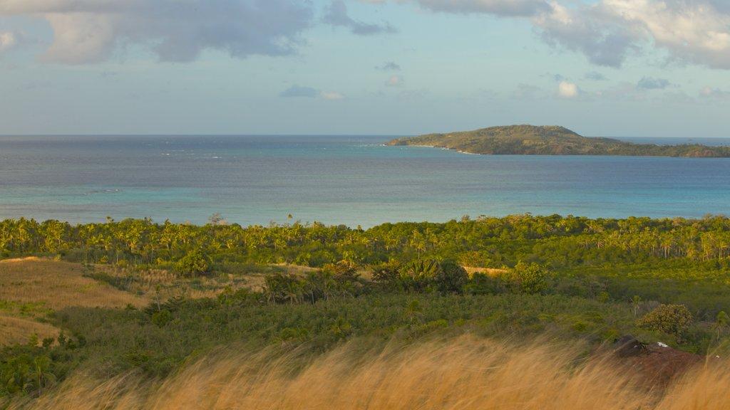 Nacula Island showing general coastal views, landscape views and tropical scenes
