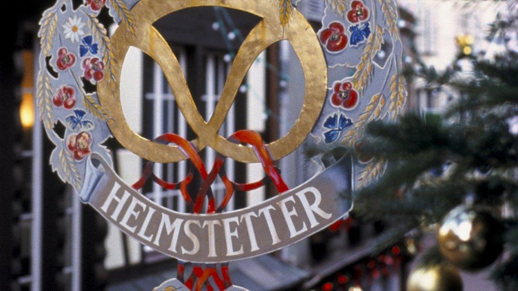 Colmar featuring signage