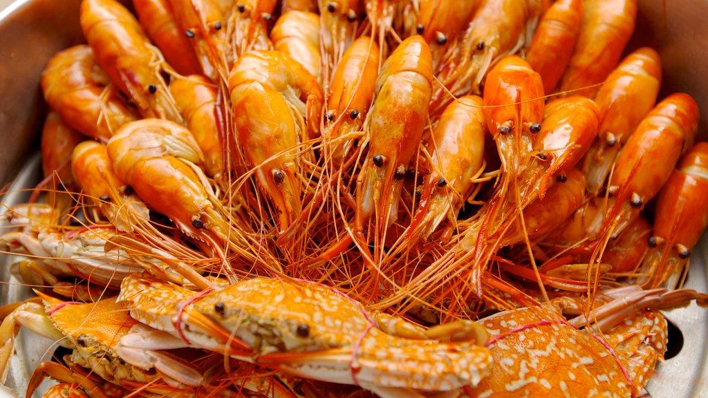Pattaya Beach featuring food