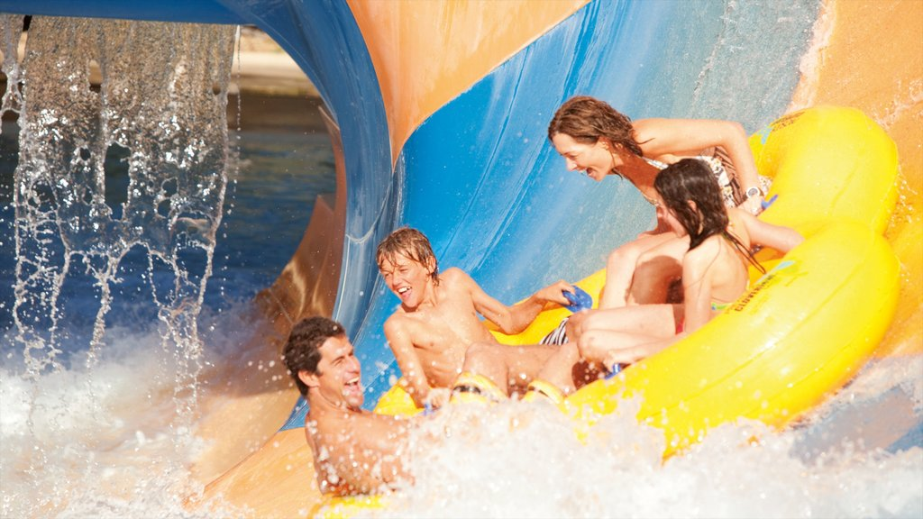 Wet\'n\'Wild Water World which includes a pool, a waterpark and rides